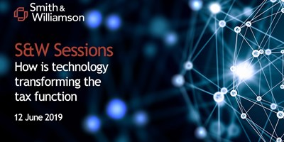 S&W sessions: How is technology transforming the tax function?