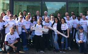 One S&W Walk raises €3,650 for charity