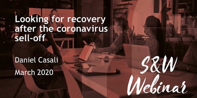 S&W Webinars Looking For Recovery After The Coronavirus Sell Off