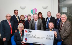 Trust's £400,000 boost for dementia charity
