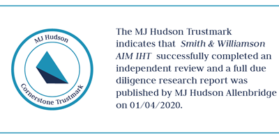 Cornerstone Trustmark Smith And Williamson AIM IHT