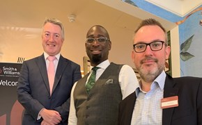 Joel Blake OBE Urges Businesses To 'Go Glocal' at Smith & Williamson Event