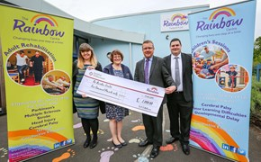 Charity cheque boosts centre's vital work